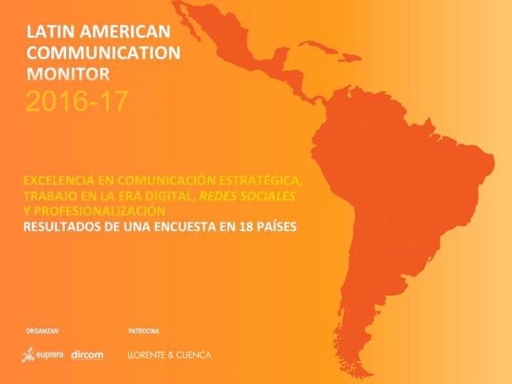 Segunda edición del Latin American Communication Monitor